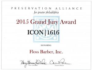 2015 Grand Jury Award ICON 1616